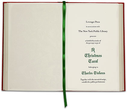 A Christmas Carol: In collaboration with the New York Public Library