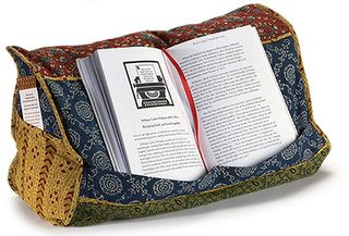 India Cloud Book Pillow