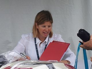 Dorie McCullough Lawson at National Book Festival